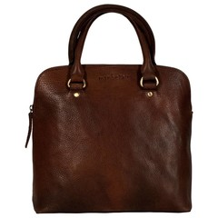 manbefair HANDBAG LIZ leather brown