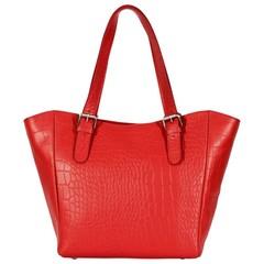 manbefair ACELYA SHOPPER leather red croco