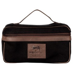 BOLOGNA TOILETRY BAG black canvas