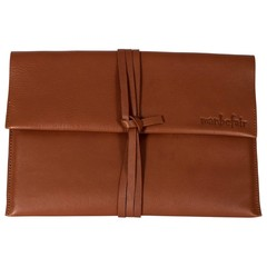 TABLET PC SLEEVE KENSINGTON leather cognac