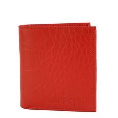 manbefair WALLET MIAMI retro red croco leather