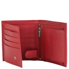 manbefair WALLET MIAMI red leather