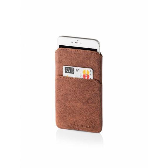 Iphone 6 7 Und 6s 7s Hülle Leder Braun Fair Trade öko