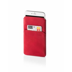 FREIRAUM IPHONE 6/7 AND 6S/7S PLUS SLEEVE leather red