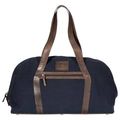 REISETASCHE LONDON Canvas blau