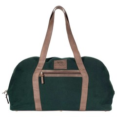 LONDON TRAVEL BAG canvas green