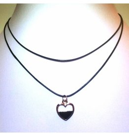 Choker Black Heart Gold - 2014