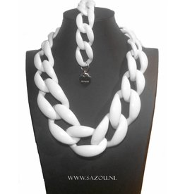 Ketting Set White Beauty