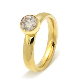 Ring Stainless Steel Gold Plated