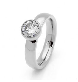 Ring Stainless Steel - Zilver