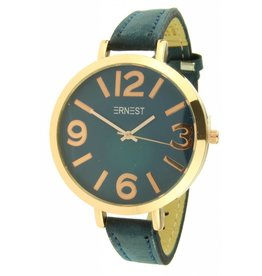 Ernest Horloge Arizona Dark Blue Rose Case