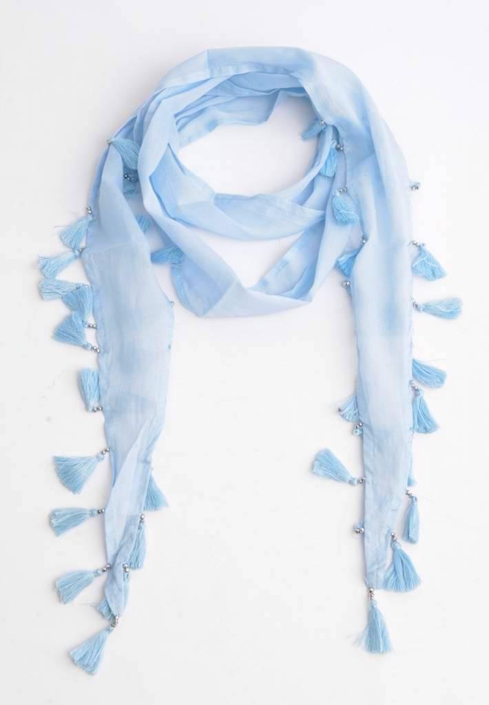 Sjaal Skinny Denim Blue
