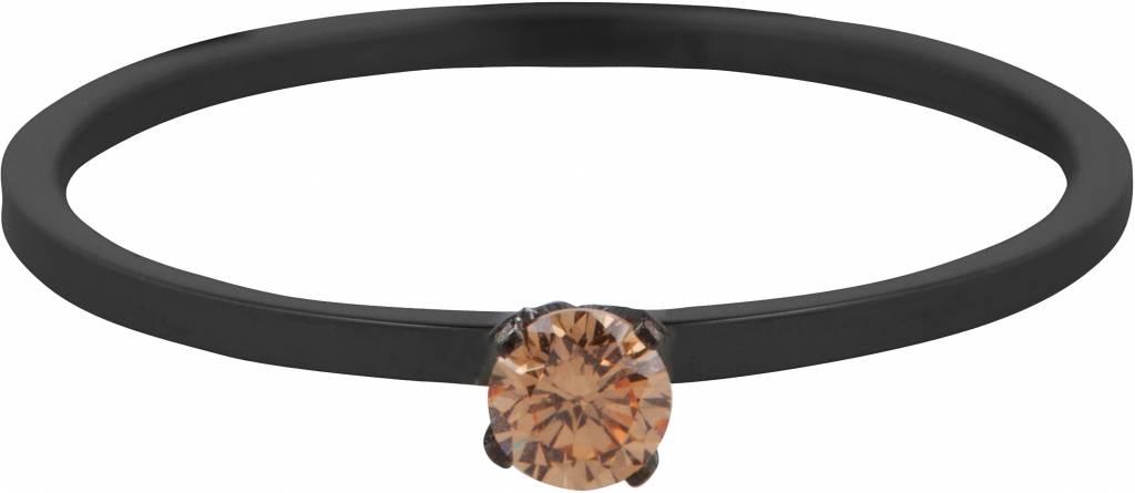 Charmin's SHINE BRIGHT BLACK & TOPAZ CRYSTAL STEEL R356
