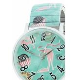 Ernest Horloge Pink Heels Mint 7169