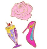Fashion Pins / Set van 3 / PINS009