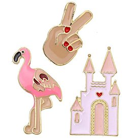 Fashion Pins / Set van 3 / PINS011