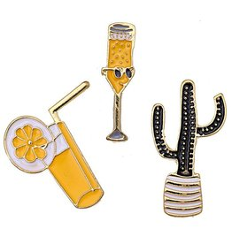 Fashion Pins / Set van 3 / PINS010