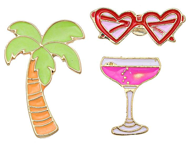 Fashion Pins / Set van 3 / PINS014