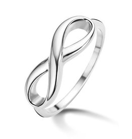 New Bling Ring Infinity Stainless Steel