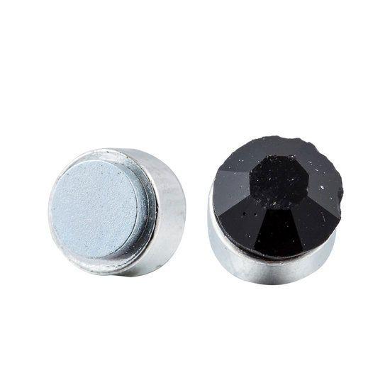 Magnetic Earrings Black
