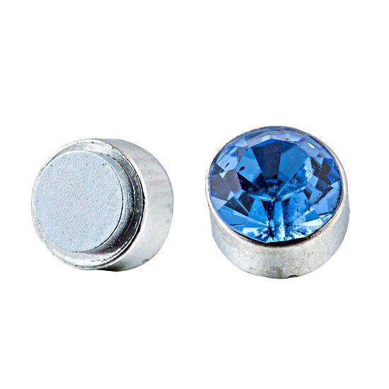 Magnetic Earrings Blue