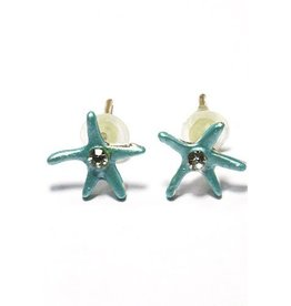 Kids Only Oorstekers Blue Starfish