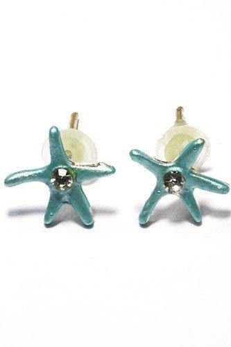 Kids Only Oorstekers Blue Starfish