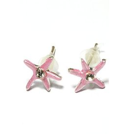 Kids Only Oorstekers Pink Starfish