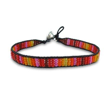 Colori Armbandje Black Cord Multicolor