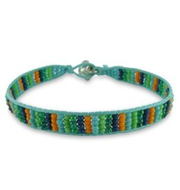 Colori Armbandje Mint Green Cord - Multicolor