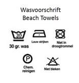 Round Beach Towel Blue Nature