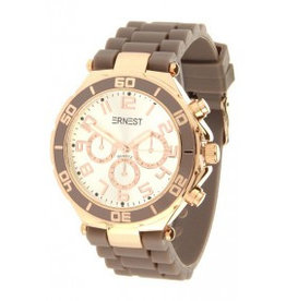 Ernest Horloge Rose Case Dark Taupe 7178