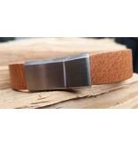 B & L Lederen Armband Cognac MT21 BL 998