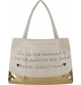 BOHO Beach Bag Gold