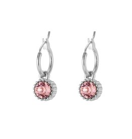 Oorbellen Posh Sparkle - Rose - Zilver Plated