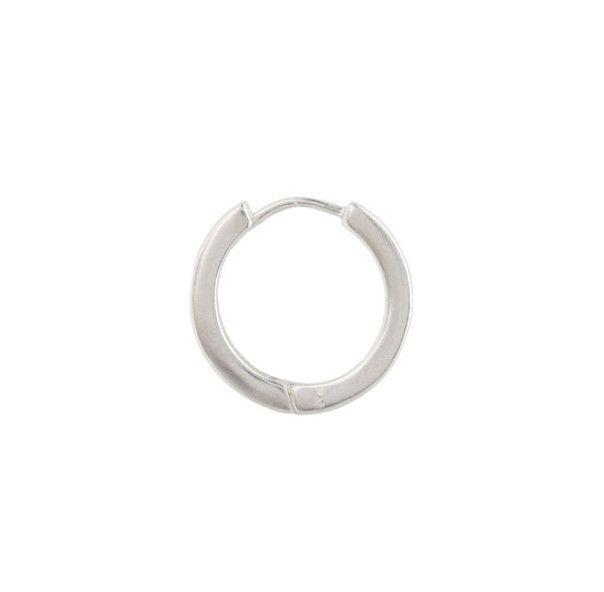 Charmin's Zilveren oorbellen Creolen 17 mm x 1,8 mm