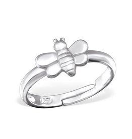 PJ Verstelbare Ring  Bij - 925 Sterling Zilver