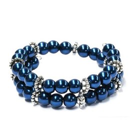 Wire Armband Blue