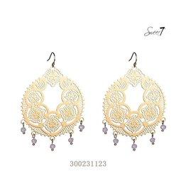 Sweet 7 Oorbel  - Gold