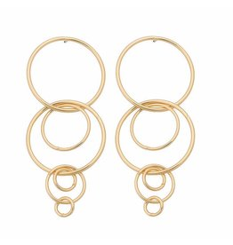 Oorbellen Hoops Gold