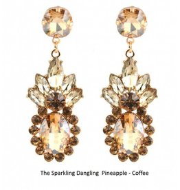 The Sparkling Dangling  Pineapple - Coffee