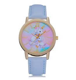 Horloge Unicorn  Two Blue 7187