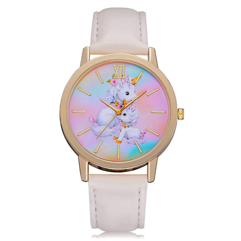 Horloge Unicorn Two White 7188