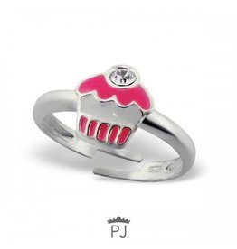 PJ Ring  CupCake - 925 Sterling Zilver