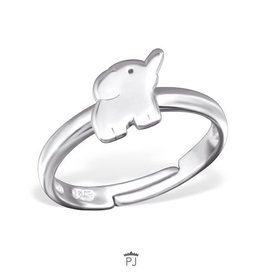PJ Ring  Olifant - 925 Sterling Zilver