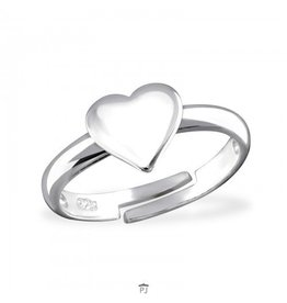 PJ Ring  Mijn Hart - 925 Sterling Zilver