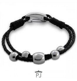PJ Armband Steel Drops