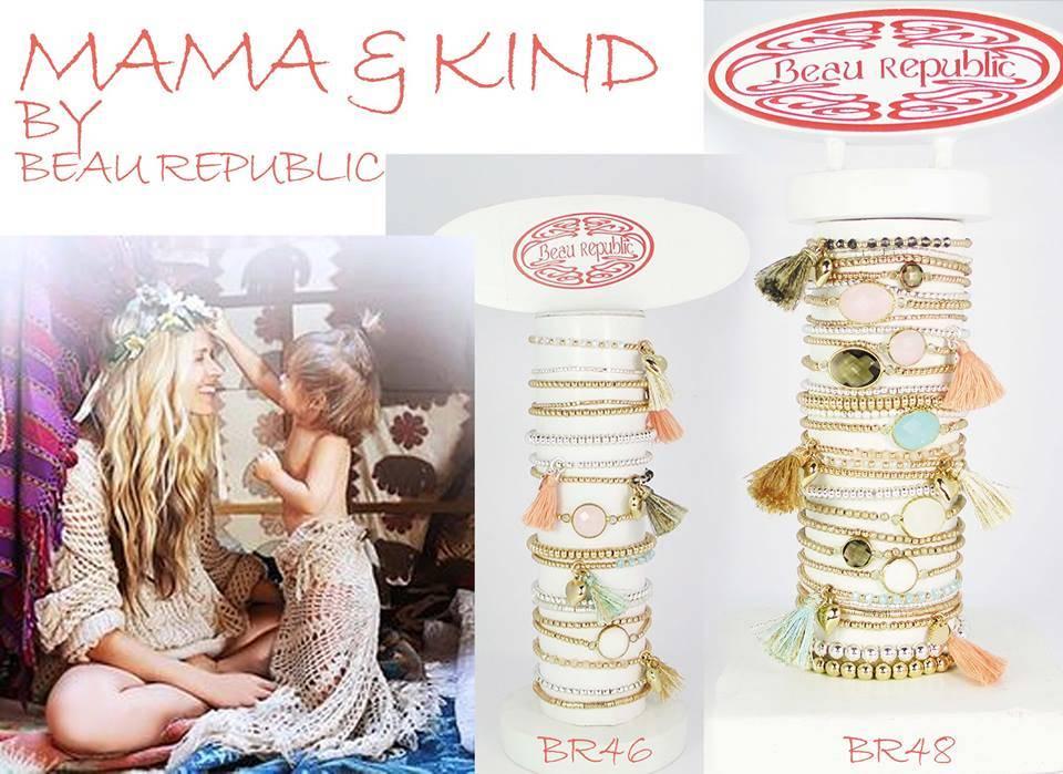 Beau Republic Armbandje Shiny Beads
