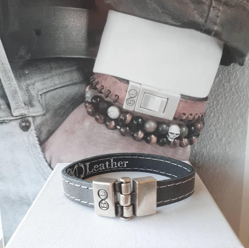 B & L Lederen armband BL 4403
