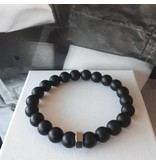 Sazou Jewels Armband Natural Stones Onyx 8418